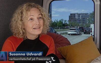 FREEZONEN HAR STARTAT UPP SVERIGES FÖRSTA MOBILA KVINNOJOUR